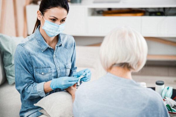 Medizinische Pflege zu Hause