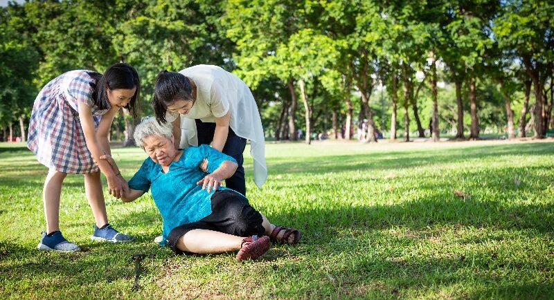 Schwindel und Bewusstlosigkeit bei Senioren