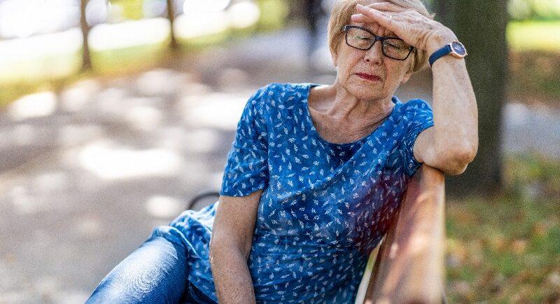 Hitzeerschöpfung bei Senioren