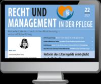 Recht und Management in der Pflege digital