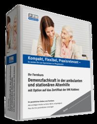 Demenzfachkraft in der ambulanten und stationären Altenhilfe (Zertifikat der IHK-Akademie Koblenz e. V.)